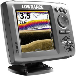 Ёхолот Lowrance HOOK-5x (Mid/High/DownScan) (000-12653-001)
