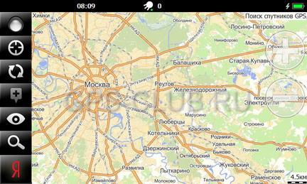 Программу карты москвы и московской области