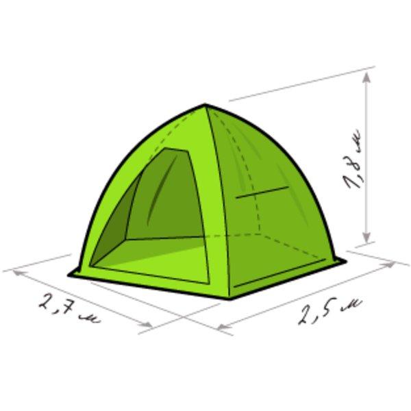 палатка зонтик для зимней рыбалки