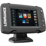 Эхолот Картплоттер Lowrance Elite-5Ti Mid/High/TotalScan (83/200+455/800kHz) (000-12423-001)