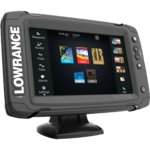 Эхолот Картплоттер Lowrance Elite-7Ti Mid/High/TotalScan (83/200+455/800kHz) (000-12419-001)